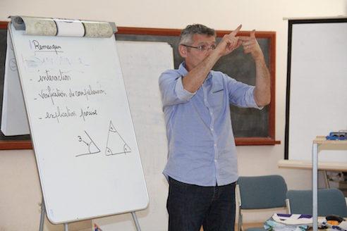 Formation d'enseignants en langue des signes française